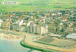 WENDUINE : Luchtfoto - Strand En Zeedijk - Wenduine