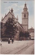 ERFURT - GERMANIA - GERMANY - DEUTSCHLAND - ST. WIGBERTIKIRCHE -18- - Ansichtskarten