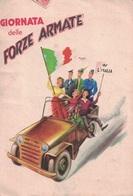 ITALIE - GIORNATA DELLE FORZE ARMATE - CARTE NON AFFRANCHIE POUR LA FRANCE - TAXEE EN ARRIVEE A LA GRAND COMBE - GARD - - Altri
