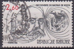 Médecine - Rober Koch - FRANCE - Découverte Du Bacille De La Tuberculose - N° 2246 - 1982 - France