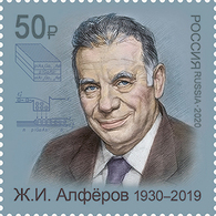 Russia 2020 1 V MNH Nobel Prize-winning Physicist Zhores Alferov - Physics