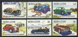 Sierra Leone 1984 Mi 752-757 MNH ( ZS5 SRR752-757 ) - Timbres