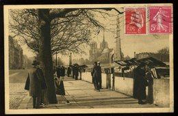 Paris En Flanant Le Quai De La Tournelle Vers Notre Dame - La Seine Et Ses Bords