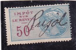 T.F.Impot Sur Le Revenu N°99 - Revenue Stamps