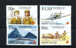 Santa Lucia Nº 1011/4 Nuevo - St.Lucia (1979-...)