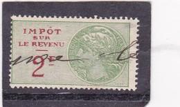 T.F.Impot Sur Le Revenu N°101 - Revenue Stamps