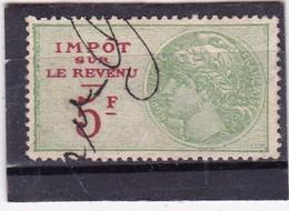T.F.Impot Sur Le Revenu N°104 - Revenue Stamps