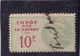 T.F.Impot Sur Le Revenu N°105 - Revenue Stamps
