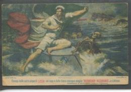 10612 Opera Nazionale Di Patronato Per Le NaviAsilo-Emerge Dalle Sacre Acque Di Lissa...Gabriele D'Annunzio - Guerra 1914-18