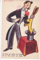 Humour (Fantaisie) - Je Mets Un Ticket De Viande Et Je Fais Sortir Un Lapin - Humour
