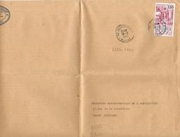 France N° 2393 Y. Et T. Vienne Poitiers C.T. Cachet Type A9 Du 18/03/1986 Sur Lettre - Marcophilie (Lettres)