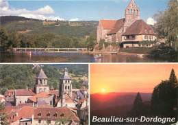 19 - Beaulieu Sur Dordogne - Multivues - Voir Scans Recto-Verso - France