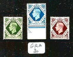 GRA YT 220 / 221 / 221A En XX - 1902-1951 (Re)