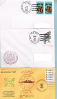 Lot 3 De 5 Lettres Avec Cachet US NAVY Divers - United States