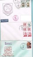 Lot 5 De 5 Lettres Avec Cachet US NAVY Divers - United States