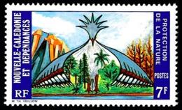 NOUV.-CALEDONIE 1974 - Yv. 390 **   Cote= 2,00 EUR - Protection De La Nature  ..Réf.NCE25134 - Nueva Caledonia