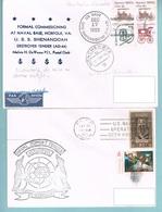 Lot 7 De 5 Lettres Avec Cachet US NAVY Divers - United States