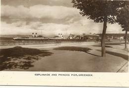 GREENOCK    ESPLANADE  AND  PRINCES  PIER - Renfrewshire