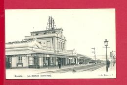 C.P. Ronse =  La  STATION  (  Intérieur ) - Renaix - Ronse