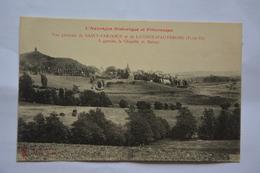 Vue Generale De SAINT-PARDOUX Et De LATOUR-D'AUVERGNE-a Gauche La Chapelle De Natzye - Other Municipalities