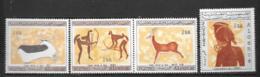 1967 - 437 à 440*MH - Dessins Rupestres De Tassili - Algérie (1962-...)