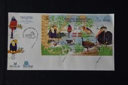 INDONESIË INDONESIA 2009 ZBL FDC BLANCO ++ BIRDS VOGELS OISEAUX - Indonesia