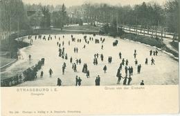 Strassburg I. E.; Orangerie, Gruss Von Der Eisbahn - Nicht Gelaufen. (A. Deppisch - Strassburg) - Strasbourg