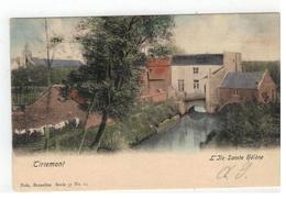 Tienen  Tirlemont  L'Ile Sainte Hélène 1904 - Tienen