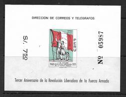 PEROU 1971 BLOC ANNIVERSAIRE DE LA REVOLUTION  YVERT N°B9  NEUF MNH** - Pérou