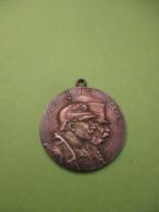 Médaille Patriotique/Deutsches Reich-Osterreich Tragbare Medaille/Einig Und Stark/Gott Mit Uns/1914    MED354 - Germany