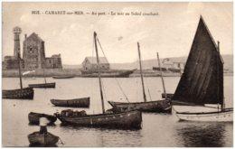 29 CAMARET-sur-MER - Au Port - Le Soir Au Soleil Couchant - Camaret-sur-Mer