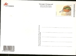 Portugal  ** & Postal Stationery, Marrequinha, Anas Crecca, 25 De Abril Bridge, Lisbon 1998 (14) - Interi Postali