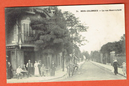 200 P - 24-Bois-Colombes Rue Henri Litolff 1913 Vers Luxembourg-ville - Colombes