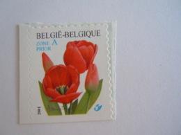 België Belgique 2001 Rode Tulp Tulipe Rouge Timbre De Carnet, Zegel Uit Boekje B40 3047 MNH ** - Belgien