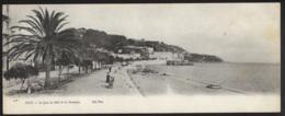 Nice (06) - CARTE PANORAMIQUE - Le Quai Du Midi Et Les Ponchettes - Ed. Neurdein ND Phot. 3278 - Panoramic Views