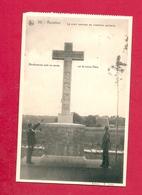C.P. Roselies =  Cimetière  Militaire 1914-1918  LA  CROIX  CENTRALE   + Cachet  Scan 2 - Aiseau-Presles