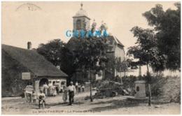25 LE MOUTHEROT - La Place De L'église - Francia