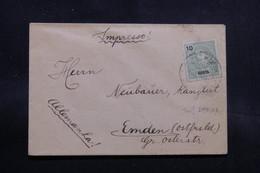 PORTUGAL - Enveloppe De Horta Pour L 'Allemagne En 1906, Affranchissement Plaisant - L 55384 - Horta