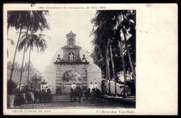 Centenario Da Reconquista De GOA 1910. Circulado De INDIA PORTUGUESA Nova Goa To BRITISH INDIA Bengalore 2 Stamps - Portugiesisch-Indien