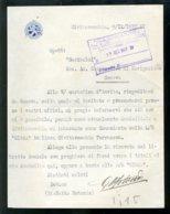 Fascismo Marina Navigazione Documento Civitavecchia - Documenti Storici