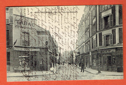 200 P - 40- Bois-Colombes - La Rue Des Carbonnets - Obl Colombes-Seine 1913 Vers Luxembourg - Grand-Duché - Colombes