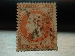 Timbre  Napoléon III Lauré  Empire Franc 40 C Oblitéré Y&T 31 - 1863-1870 Napoleon III With Laurels