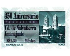 Ref. 44204 * MNH * - MEXICO. 1994. 350th ANNIVERSARY OF THE CITY OF SALVATIERRA . 350 ANIVERSARIO DE LA CIUDAD DE SALVAT - Coches