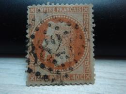 Timbre  Napoléon III Lauré  Empire Franc 40 C Oblitéré - Numéroté - Y&T 31 - 1863-1870 Napoléon III Lauré