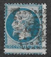 France   N° 22 Piquage Décalé   Oblitéré Gros Chiffres 392   B/TB   ... Soldé  à Moins De  10 %   ! ! ! - 1863-1870 Napoléon III Con Laureles