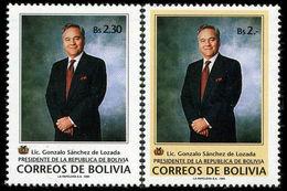 Bolivia 1994 Pres. Sanchez De Lozada Unmounted Mint. - Bolivie