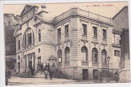 ALGERIE ORAN Le Casino ,attelage Charette Dans La Rue - Oran
