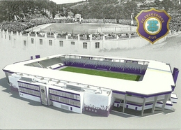STADIUM POSTCARD STADIO STADION STADE ESTADIO AUE - Stadi