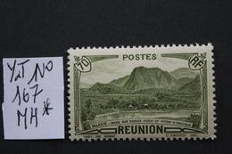 REUNION 1939 Y&T NO 167  70C OLIVE (Salazié Mare Aux Poules D'eau Et Piton D'Anchain)..NEUF* TB .. - Réunion (1852-1975)