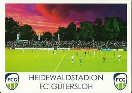 STADIUM POSTCARD STADIO STADION STADE ESTADIO GÜTERSLOH - Stadi